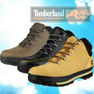8a5dbed59f4 TIMBERLAND PRO SPLITROCK Work Safety Boots Hiker, Honey (Wheat), Black,  Gaucho