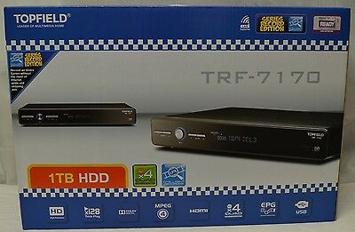 Topfield TRF-7170 New In Box 1 TB DTV Recorder *Limited Stock Ava.*