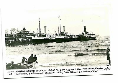 "Paddle Steamers ""balmoral"" Etc - Two Pamlin Cards"