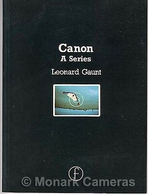Canon A1 AE1 AV1 AL1 & AT1 Camera Guide. More Instruction Books & Manuals Listed