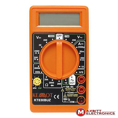 Palm Size Digital Multimeter Electric Tester AC/DC
