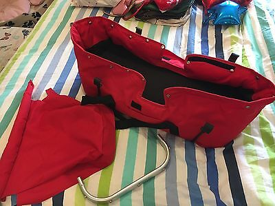 Baby Jogger City Select Red Bassinet