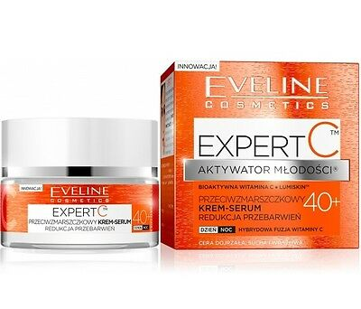 Eveline Cosmetics Expert C Youth Activator 40+ Rich Antiwrinkle Cream Serum