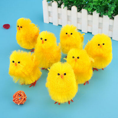 Mini Chicken Bright Easter Chick Easter Day Home Party Decoration For Kids