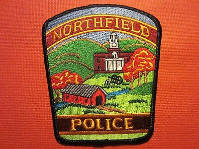 Collectible Vermont Police Patch Northfield New