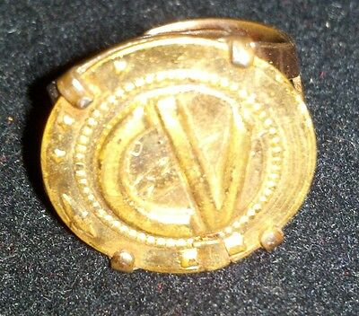 Vintage 50s Captain Video Secret Seal Ring