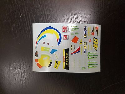 1:43 DECALS Ford Fiesta WRC Rossi Monza Rally Show 2011