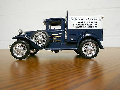 1992 1/32nds DIE CAST LIBERTY CLASSICS FORD MODEL T BANK DIST. BY SPEC CAST
