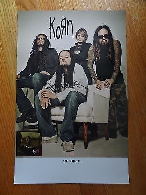 Korn Promo Poster 11 x 17 III remember who you are Collectible