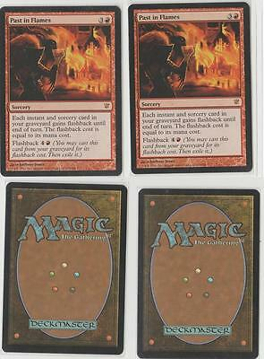 MTG GAME 2x PAST IN FLAMES - INNISTRAD ENGLISH - NM