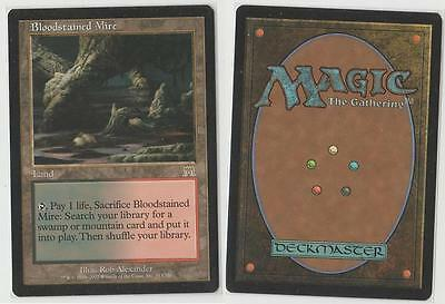 MTG GAME 1x BLOODSTAINED MIRE - ONSLAUGHT ENGLISH - NM (2)