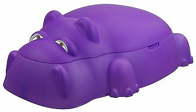 Starplay Hippo Pool 3.2' Novelty Sandbox with Cover Purple