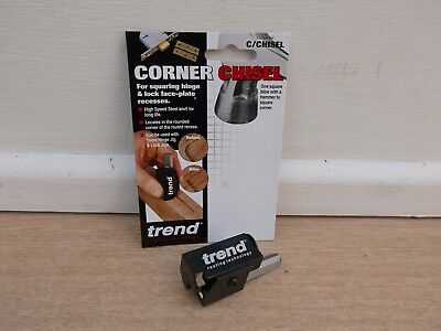 Trend Corner Chisel C/chisel For Hinge Fitting + 6 Carpenters Pencils