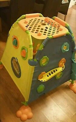 Tomy Play To Learn Discovery Dome Play Tent