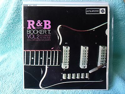 BOOKER T & THE M.G's. R & B WITH...VOL.2.  EXCELLENT CONDITION 1964 EP.