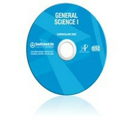 7th Grade SOS Science Homeschool Curriculum CD Switched on Schoolhouse 7