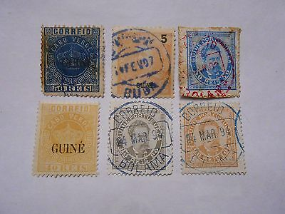 Timbres Colonies Portugal Guine