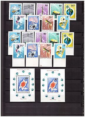 s15057) SPACE 1965 MNH** Hungary 18v + 2 S/S (Perforated + Imperforated)
