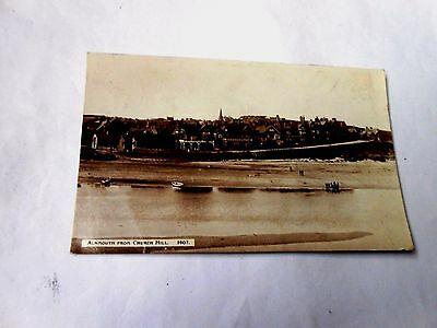 Alnmouth From Church Hill-Northumberland-Posted 1930-Postcard