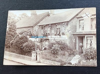 Rppc Coronation Decorated House By Gross Of Calne Nr Chippenham