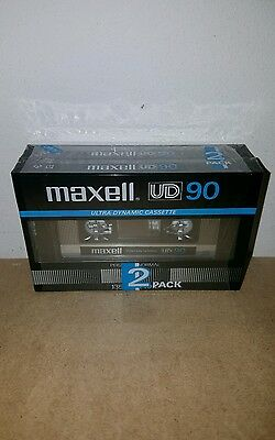 MAXELL UD 90 (2 PACK) : 1982-84 : Made in Japan : NEW & SEALED