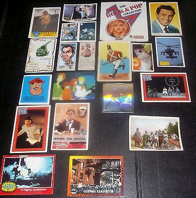 20 Trade/gum/confectionary Cards Inc Rock Hudson & Take That