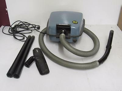 The Eureka Company Company Vintage Vacuum Model 3322 With Accessories #1071