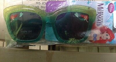 Disney Store little Mermaid Ariel Ages 3+ Sunglasses for Kids 100% UV Protection