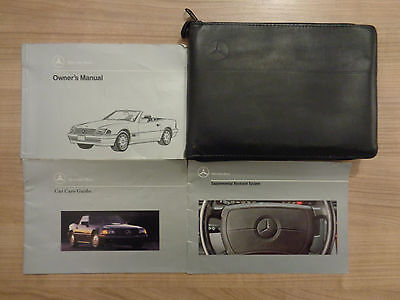 Mercedes SL R129 Owners Handbook/Manual and Wallet