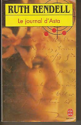 RUTH RENDELL - Le journal d'Asta