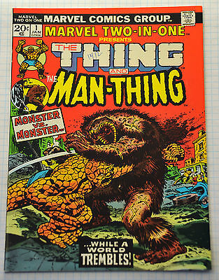 Marvel Two-in-One #1 (1974) Key first issue, Gil Kane, John Romita, NM- Range
