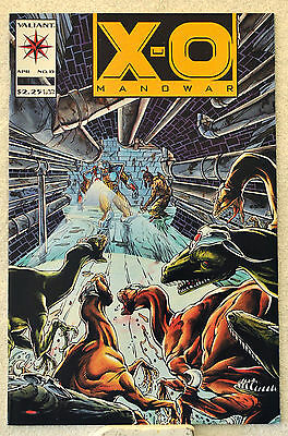 X-O Manowar #15 (Apr 1993, Valiant) Turok appearance, Bart Sears, NM range.