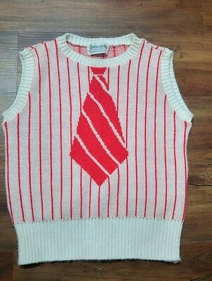 Retro -Vintage Justin Charles Child's Sweater Vest