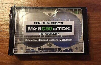 Tdk Ma-R C90 - Metal Alloy Cassette - 1979 - New/neu/unused - Top - Rar