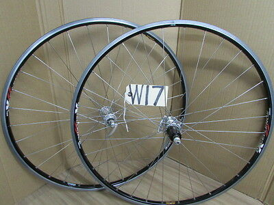 SHIMANO DURA ACE 7400 AMBROSIO EXCELLENCE  CLINCHER  700c WHEELS 8 SPEED (w17)