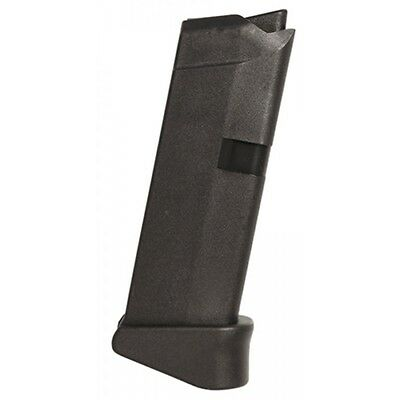 Glock 43 Magazine With Extension 9mm Luger 6 Round 6RD 9x19MM Factory MF08855