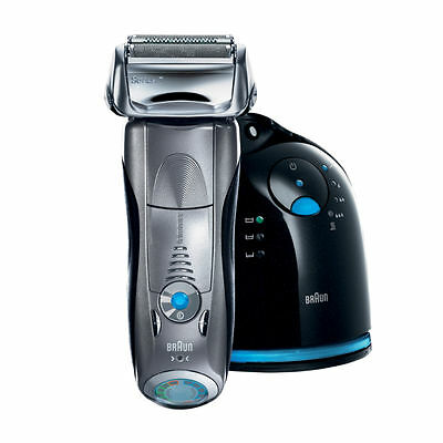 Braun Series 7 790cc-4 Electric Foil Shaver Clean Charge Station Electric Men's