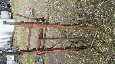 Cookes Sack truck and hoist stationary engine