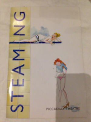 Steaming by Nell Dunn Programme, Piccadilly Theatre 1997, Jenny Eclair D Langton