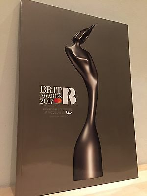 The Brit Awards 2017 Official Programme Brits