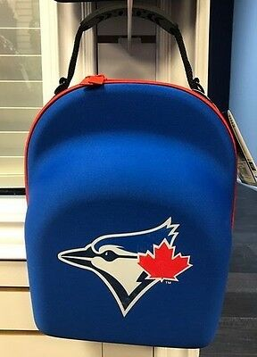 New Era Cap Hat Carrying Carrier Case Handle Fits 6 Hats Bag Toronto Blue Jays