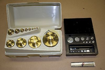 Lot: PERMAS Laboratory Standards Metric & Sto-A-Weigh Imperial Precision Weights