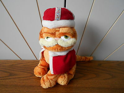 HIS MAJESTY character soft toy TY beanie babies GARFIELD - THE MOVIE 2006