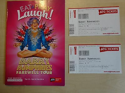 Barry Humphries' - Eat Pray Laugh - Farewell Tour