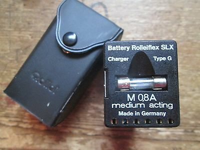 Rollei Rolleiflex SLX Battery M08A Medium Acting Made in Germany