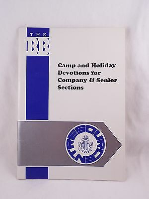 Boys' Brigade Camp And Holiday Devotions Resource Booklet Boy's Bbs B.b