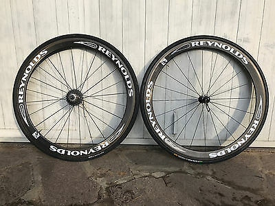 Ruote carbonio REYNOLDS ASSAULT copertoncino carbon road wheels bike bici