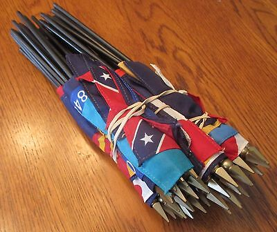 """Set Of 50 Miniature State Flags - 4"""" X 6"""""""