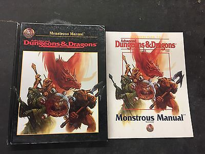 Advanced Dungeons & Dragons 2nd Ed Monstrous Manual and more lot manuals Records