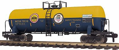 MTH 70-73056, G Gauge RailKing One Gauge Unibody Tank Car - CSX